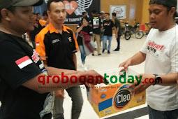 Kopdar Plat K, Pecinta Honda GL-Pro&GL-Max Galang Dana Untuk Korban Kebakaran
