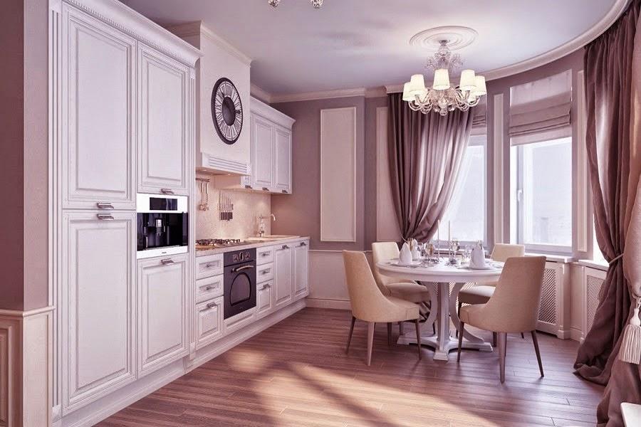 design interior bucatarie de lux