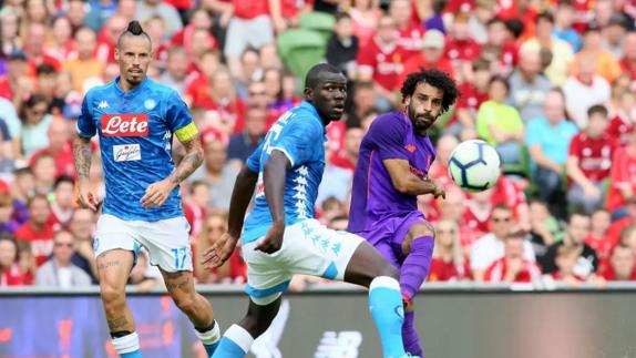 مباراة ليفربول ونابولي 11-12-2018 دوري ابطال اوروبا
