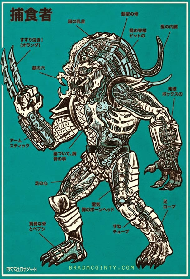 03-Alien-Brad-McGinty-Anatomy-of-Monsters-www-designstack-co