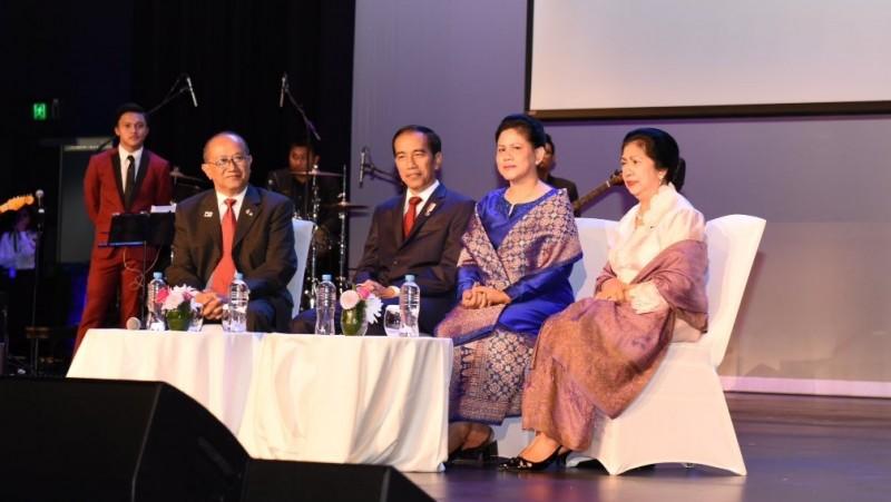 Jokowi bertemu warga Indonesia di Australia