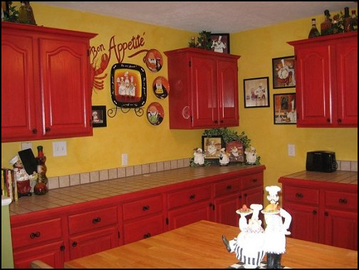 Decorating theme bedrooms maries manor fat chef for Kitchen decor themes