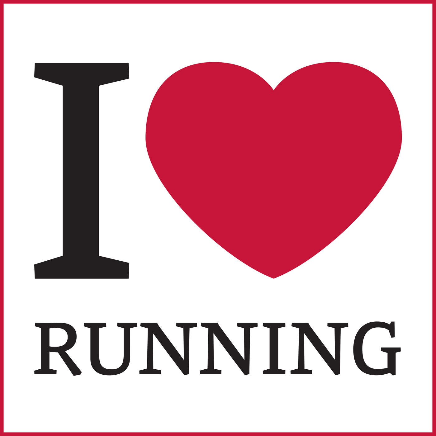 Various Artists - I Love Running Cover