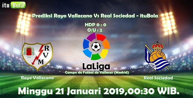 Prediksi Rayo Vallecano Vs Real Sociedad - ituBola