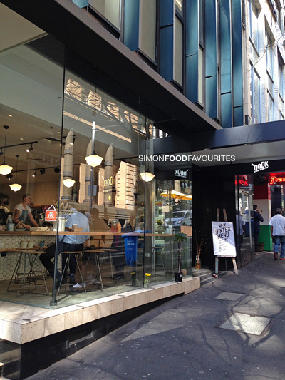 Simon food favourites 39 nook urban fresh bar cbd sydney for Food bar sydney