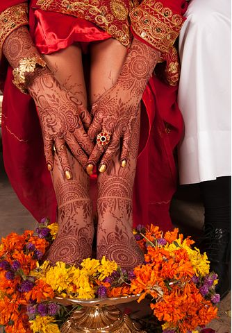 Bridal mehndi design images