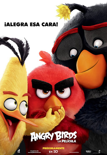 Angry Birds (BRRip 1080p 3D Dual Latino / Ingles) (2016)
