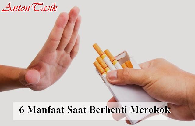 6 Manfaat Saat Berhenti Merokok