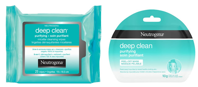 This week I m obsessed with... Neutrogena Deep Clean Purifying wipes and mask!