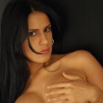 Andrea Rincon, Selena Spice Galeria 19: Buso Blanco y Jean Negro, Estilo Rapero Foto 152