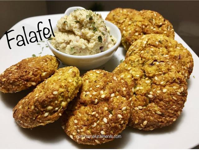 Receta de los Falafel veganos