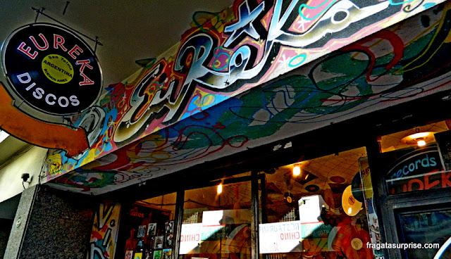 Eureka Discos, San Telmo, Buenos Aires