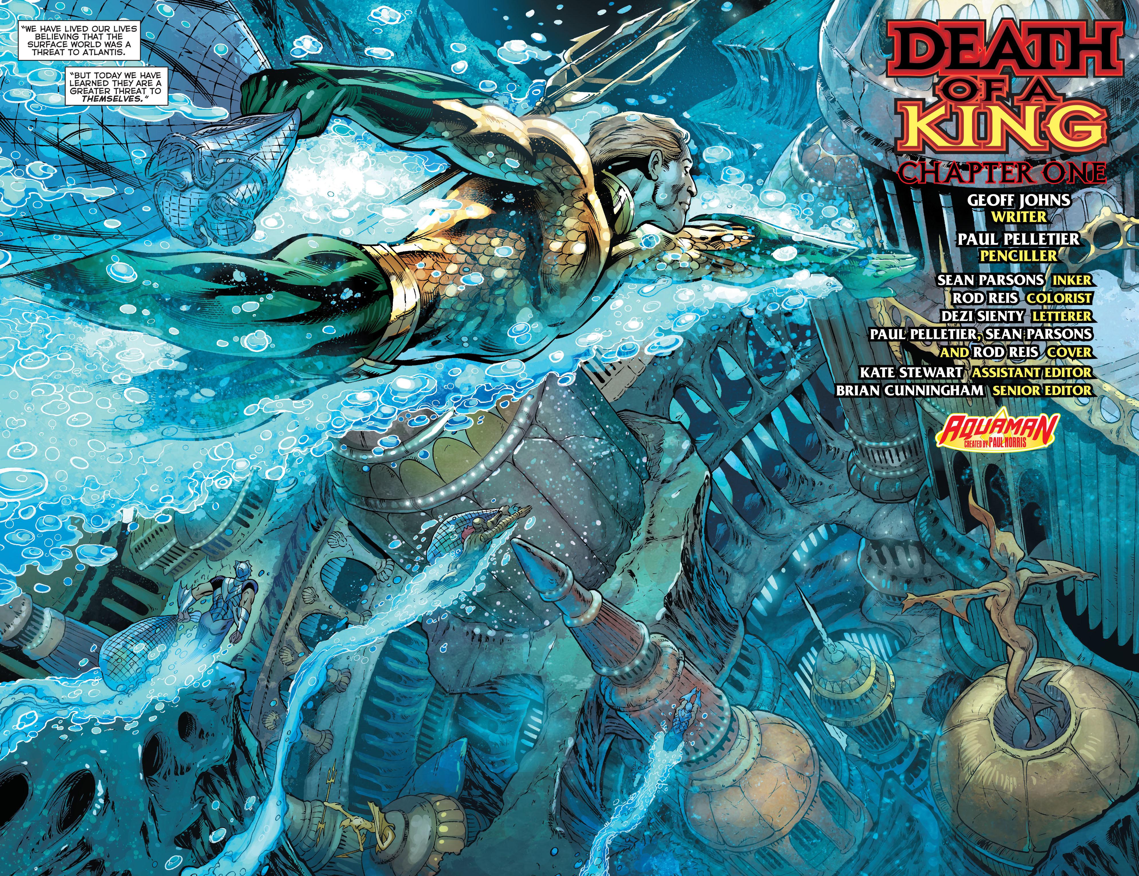 Read online Aquaman (2011) comic -  Issue #18 - 7