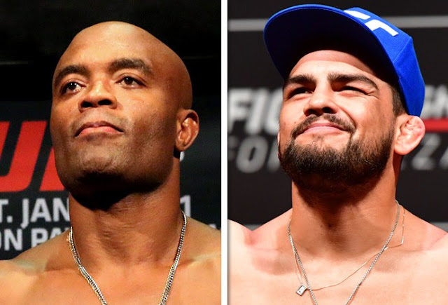 Luta Anderson Silva x Kevin Gastelum pelo UFC em Xangai 26-08-2017