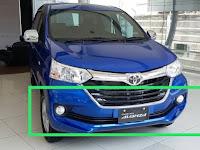 Harga dan Fisik Bumper Depan Toyota Grand Avanza