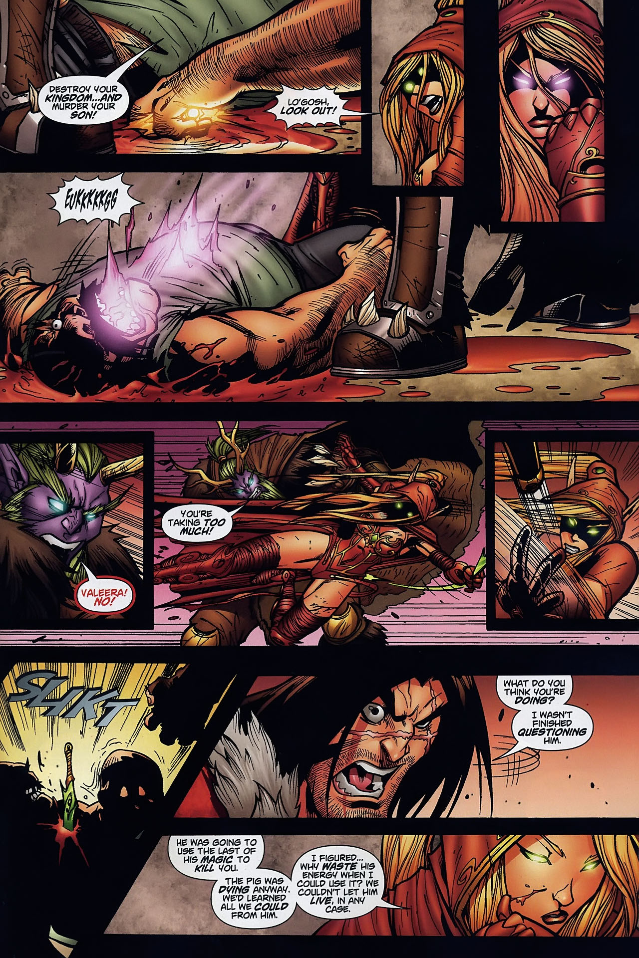 Read online World of Warcraft comic -  Issue #8 - 22