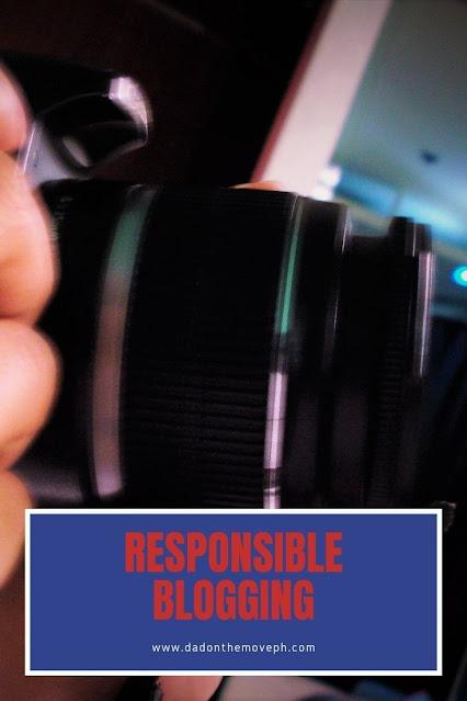How to practice responsible blogging