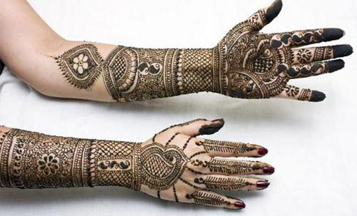 Bridal Dulhan Mehndi Design For hands