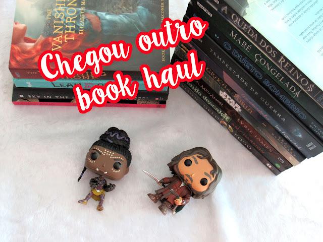 Chegou outro Book Haul