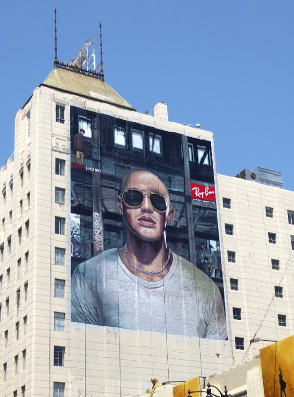 RayBan sunglasses billboard