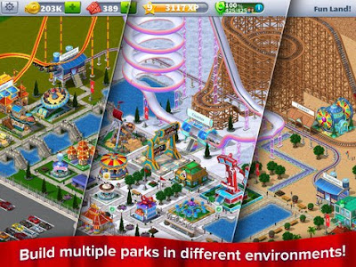 RollerCoaster Tycoon 4 Mobile Unlimited Money