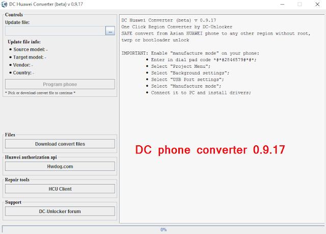 DC phone converter 0.9.17