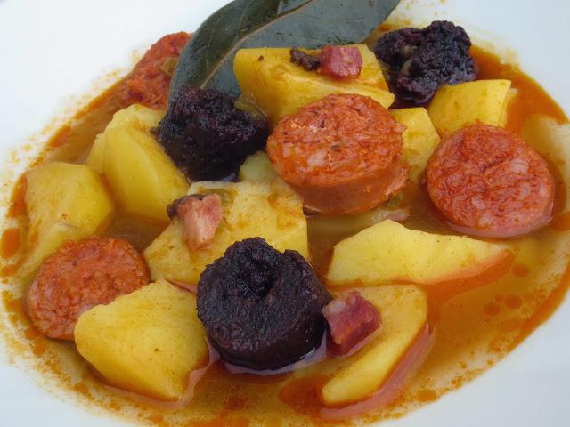 Patatas de fabada olla GM Ana Sevilla