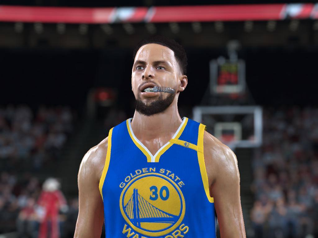 DNA Of Basketball | DNAOBB: NBA 2K17 Curry PlayOff v2 Cyberface and real body by RKJ
