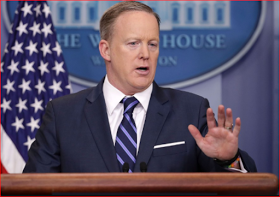 The president And Number Of People Know What Covfefe Means - says Sean Spicer