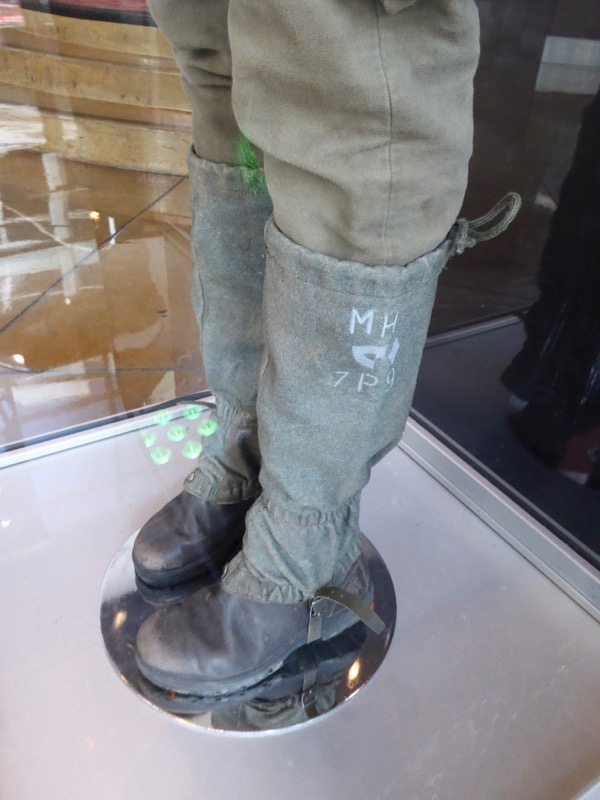 Alien Covenant Daniels costume boots