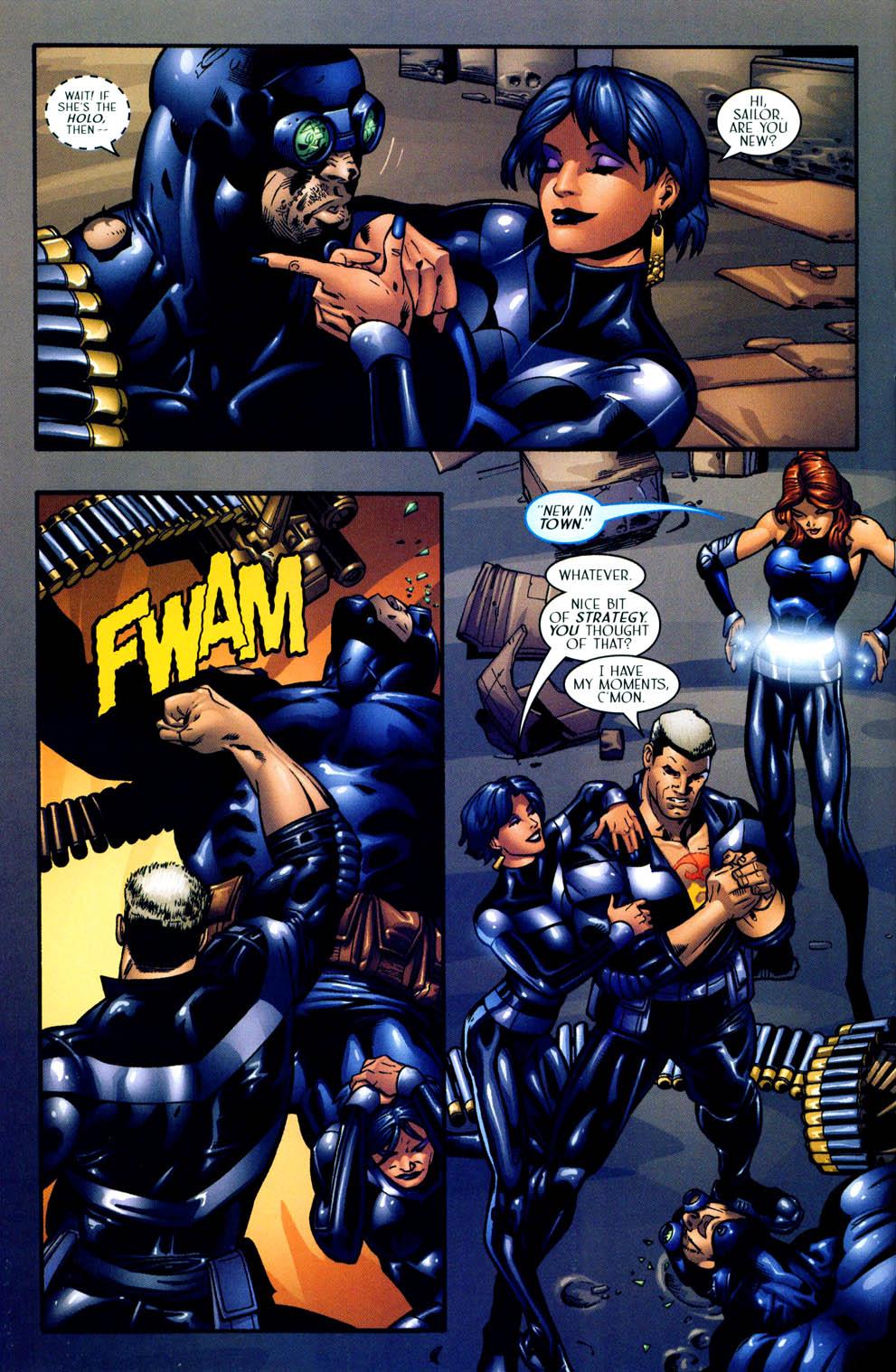 Read online Sigil (2000) comic -  Issue #12 - 22