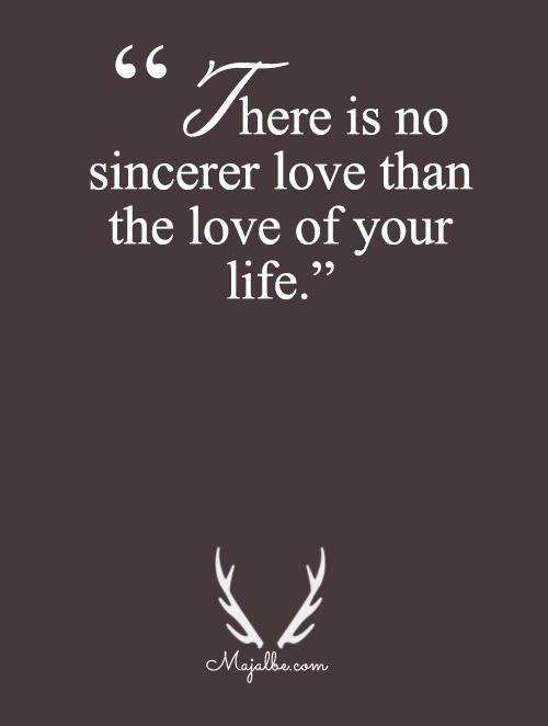 No Sincerer Love