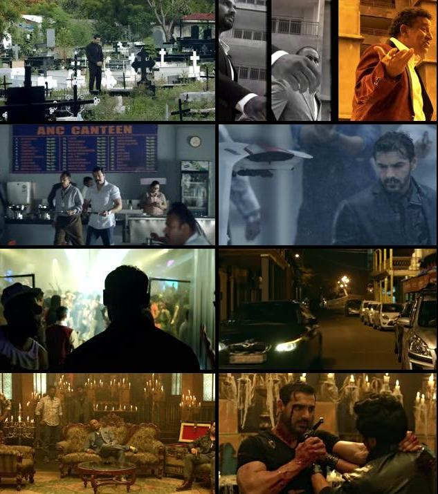 Rocky Handsome 2016 Hindi 720p DVDScr