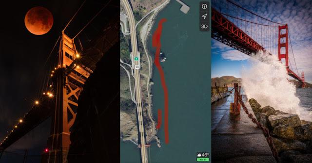 """Fotografo nei guai per aver fotografato il Golden Bridge da una """"prospettiva illegale"""""""