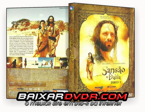 MINISÉRIE SANSÃO E DALILA COMPLETO (2011) DVD-R CUSTOM 5 DVD's