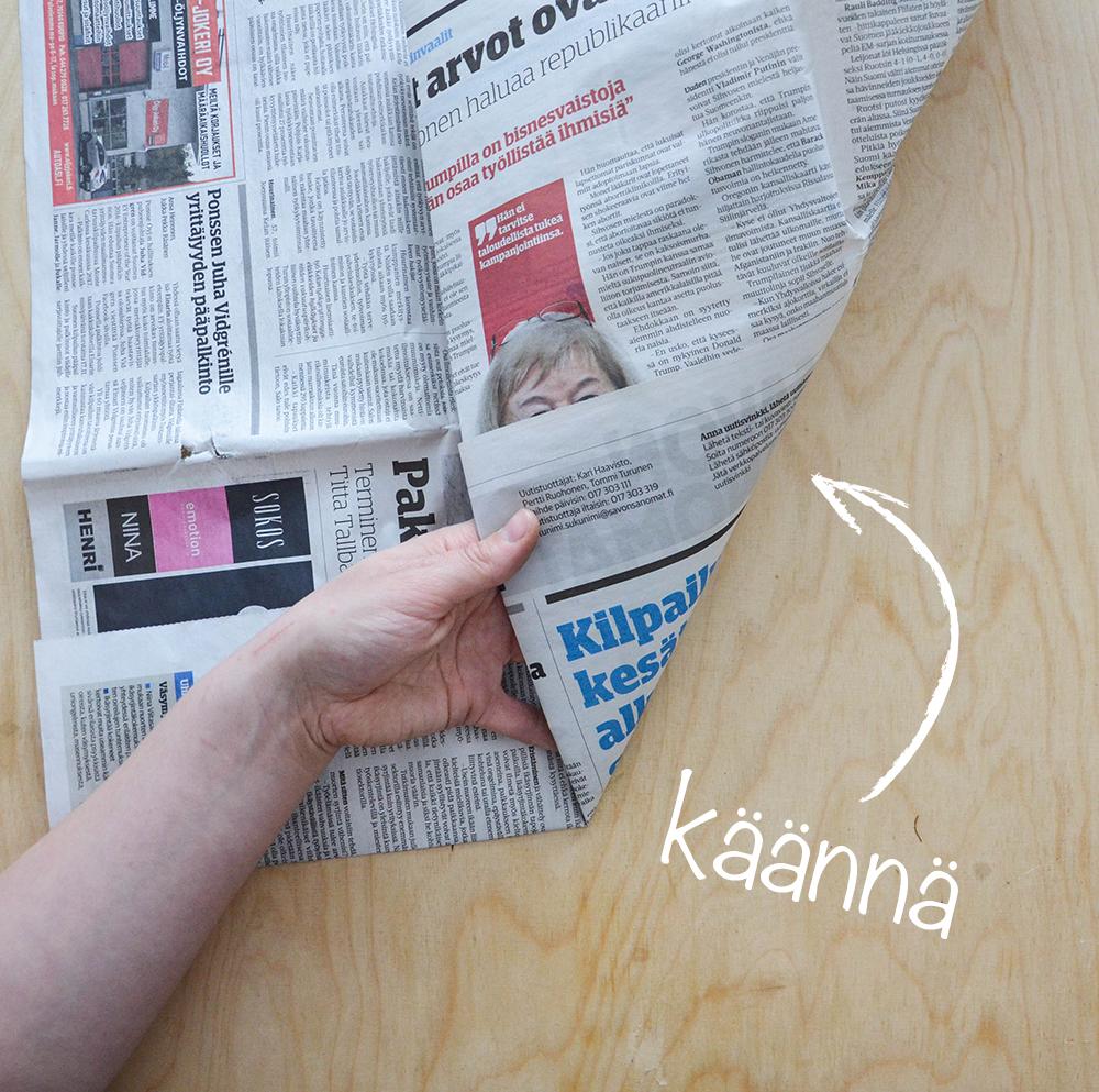 Biopussi Sanomalehdestä Ohje