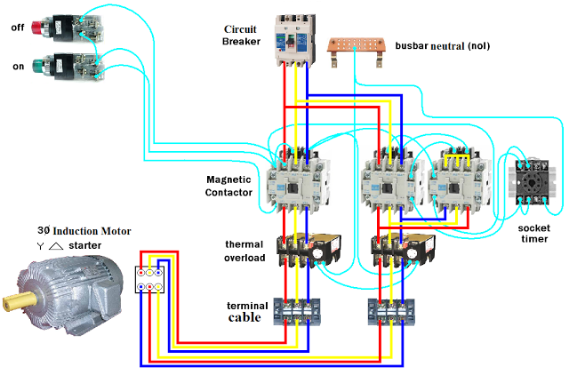 Electrical And Electronics Engineering Dol Starter Motor Star Delta. Dol Starter Motor Star Delta. Wiring. Star Delta Starter Wiring Diagram 12 Wire At Scoala.co