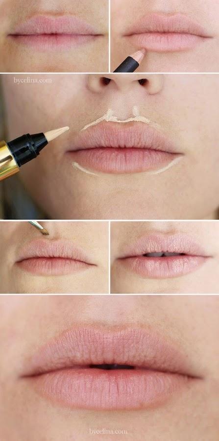 cómo iluminar los labios
