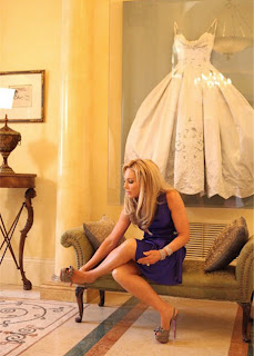 Adrienne Maloof, Wedding Gown Display, Wedding Gown Frame