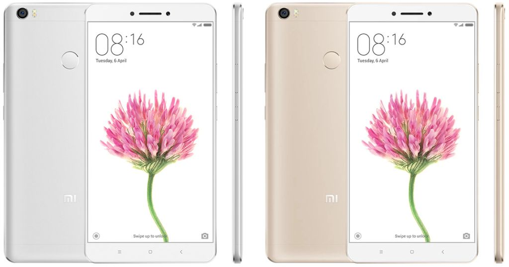 Xiaomi Mi Max (2016) with Specifications and Prices