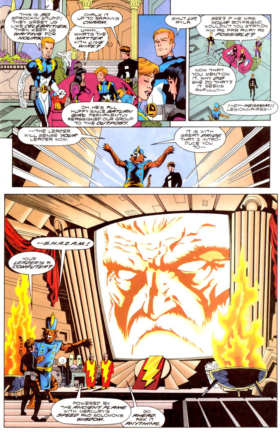Legion of Super-Heroes (1989) 110 Page 13