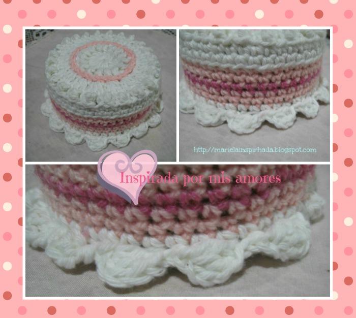 Come si fa un amigurumi torta di compleanno | 626x700