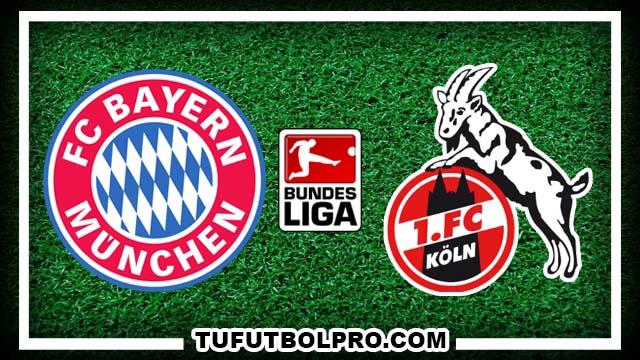 Ver Bayern Munich vs Colonia EN VIVO Por Internet Hoy 1 de Octubre 2016