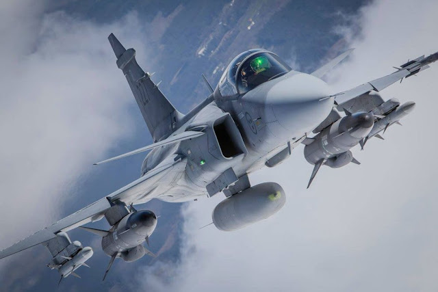 THE ORIGIN OF SAAB GRIPEN FIGHTER JET