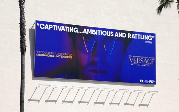American Crime Story Versace Emmy FYC billboard
