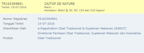 TR Zaitop De Nature Indonesia