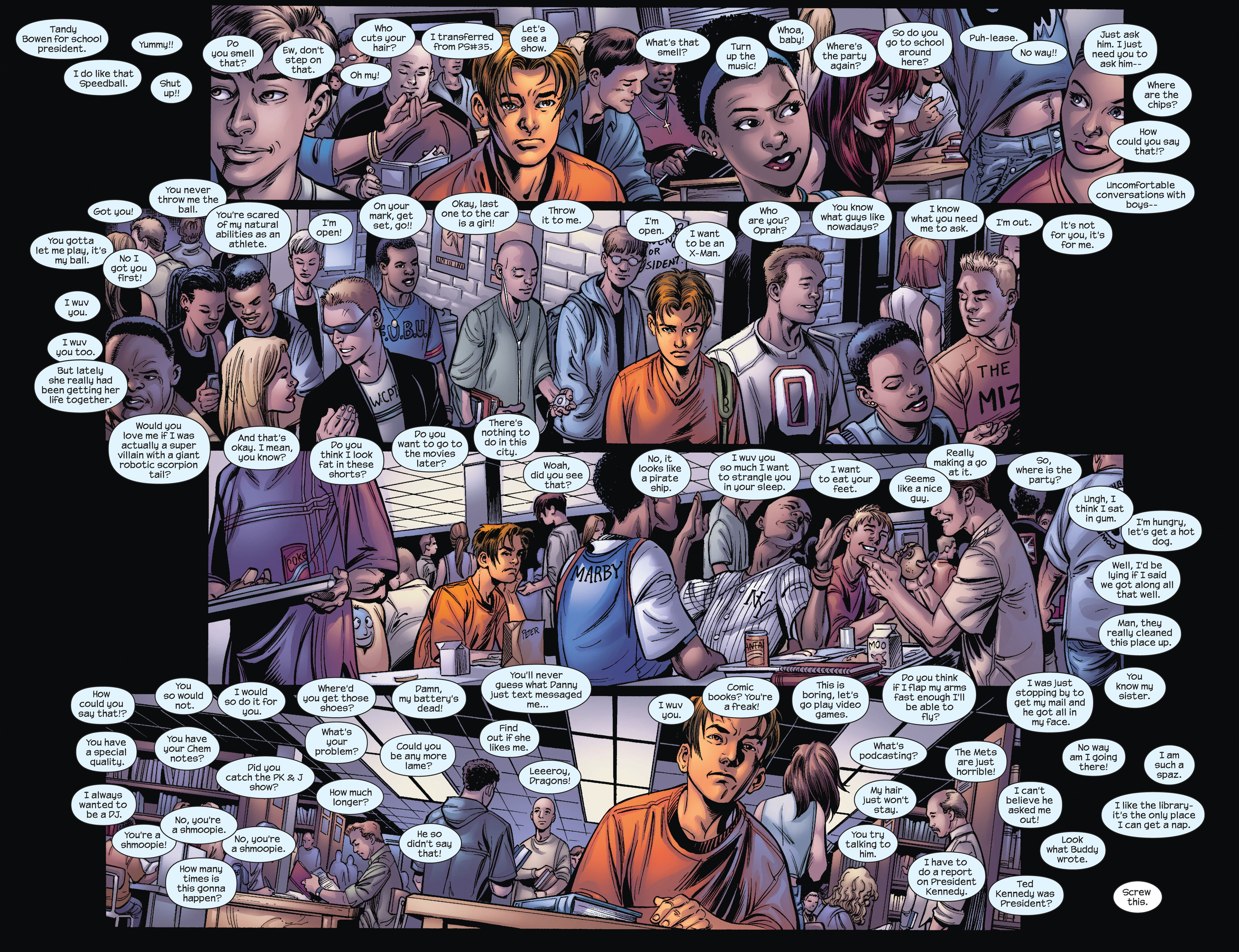 Read online Ultimate Spider-Man (2000) comic -  Issue #81 - 3