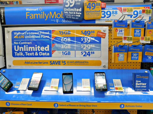Walmart @FamilyMobile is found in the Electronics Department  #SummerisforSavings
