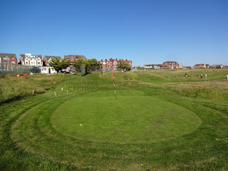 Hole 1 of the MiniLinks Par-3 golf course in Lytham Saint Annes