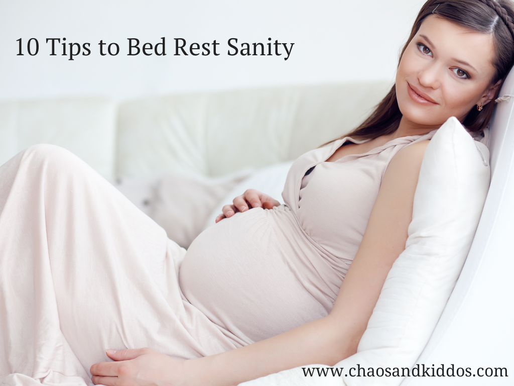 10 Tips to Bed Rest Sanity - Peaceful Pregnancy